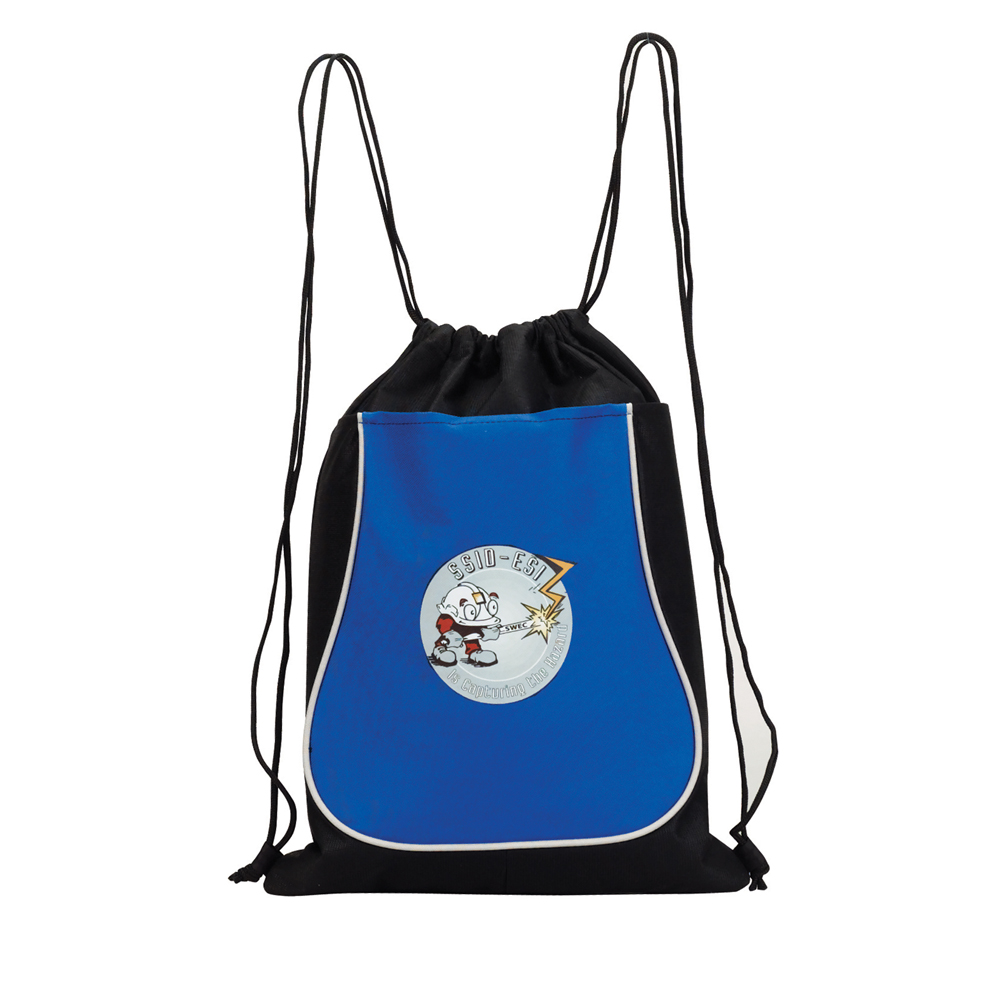 RECYCOLLECTION DRAWSTRING BACKPACK