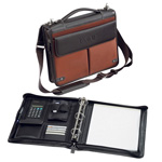 THE LONDONER (DELUXE ZIPPERED PAD FOLIO W/3RING BINDER) (BELLINO)