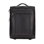 "THE PRECISION LEATHER 20"" COMPUTER/TABLET CARRY-ON"