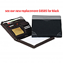 THE LEGEND (ZIP-AROUND PAD FOLIO) (BELLINO) - see our new replacement G6585 for black color