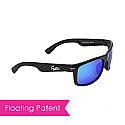 FLOATING/FISHING SUNGLASSES W/ ADVANCED MIRRORED LENS