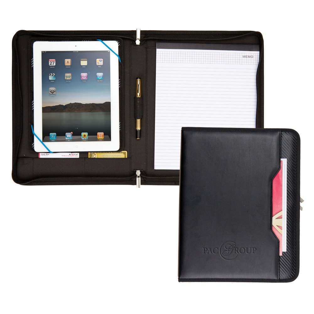 GALAXY ZIPPERED PADFOLIO